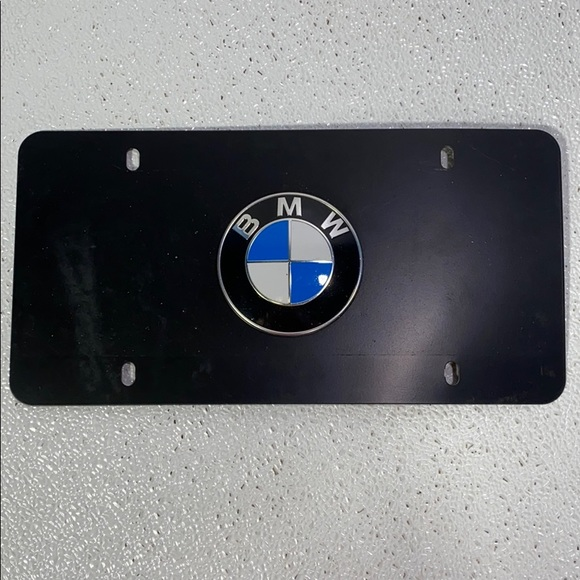 BMW License Vanity Plate Cover